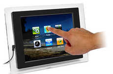 Touchscreen Wi-Fi Photo Frames - Email Your Photos to the Digital iGala