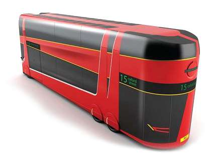 Eco-Friendly Double-Decker Buses
