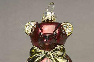 Intricate Glass and Swarovski Ornaments