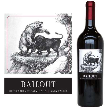 Market-Based Liquor Pricing - The Value of 'Bailout Wine' Fluctuates With the Dow
