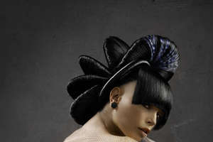Visual Hair Landscapes by Arnold Gustavo Lopez Manas