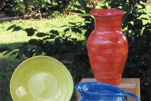 Vibrant Colors Plus Organic Forms Equal Eggware