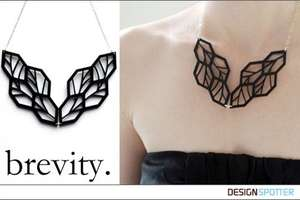 Brevity Jewelry Juxtaposes Nature Motifs With Cold Metal