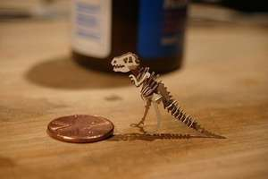 Laser-Cut 'Tinysaur' and 'Wooly Tiny' for Budding Surgeons