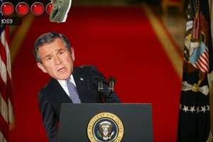 Reliving the Bush Shoe Scandal Through Animated Gifs
