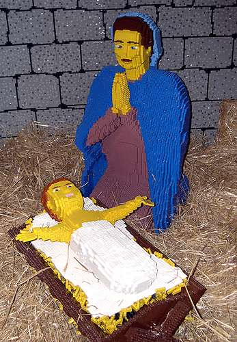DIY Geeky Nativity Scenes