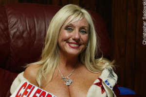 Sondra Fortunato, 'Miss Big Blue', Asked to Cover Up At Games