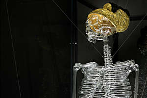 The Melli Ink Skeletal Sculpture Is Some Pretty Glassy Art