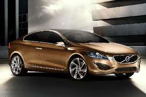 A Sneak Peek at the Sleek Volvo S60 Concept