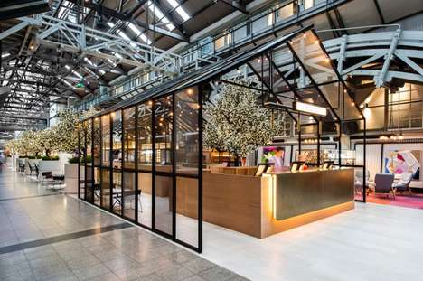 Greenhouse-Inspired Hotels - The Ovolo Woolloomooloo Hotel Project by Hassell is Inspired by Nature