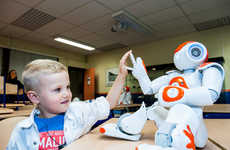 Language-Teaching Robots