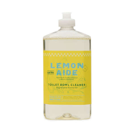 Chemical-Free Bathroom Cleaners - This Toilet Bowl Cleaner is Made With Purifying Lemon