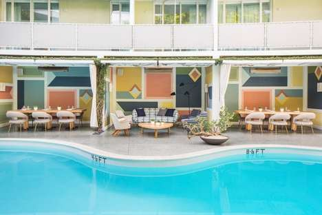 Mid-Century Californian Eateries - The Vivane Restaurant Has Recently Opened at the Avalon Hotel