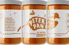 Disney Peanut Butter Concepts - This Peter Pan Peanut Butter Rebrand Concept is Disney-Inspired