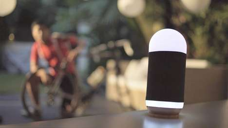 Mood-Gauging Speakers - The 'MoodBox' Offers Mood Enhancement Through Light and Music Therapy