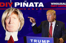 DIY Politician Pinatas - Wholesale Party Supplies Created Instructions for a Donald Trump Pinata