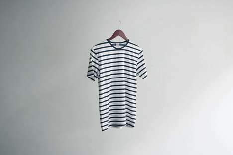"Ultra-Comfortable T-Shirts - ANDY is Introducing the ""World's Most Comfortable Stripe T-Shirt"""