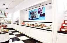 Interactive Heritage Candy Shops - This See's Candies Retail Location Features Ample Tech Influences