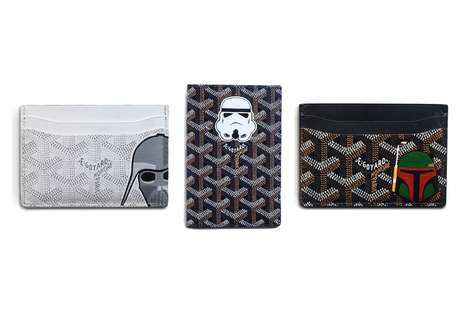 Intricate Sci-Fi Cardholders - Eric Ramirez' Hand-Painted Star Wars Cardholders Boasts Sci-Fi Style