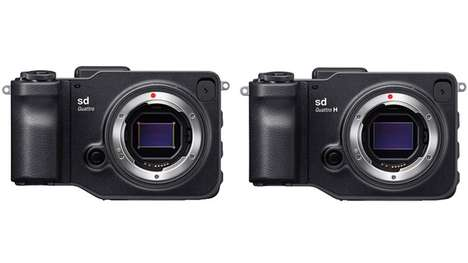 Quirky Mirrorless Cameras - The New Sigma Cameras Share Similar Sensors and Designs