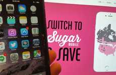 Reciprocal Data Plans - Sugar Mobile Offers Affordable and Shared Internet Access