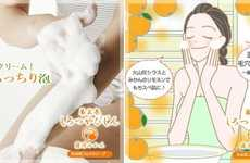 Brightening Skin Soaps - The Honzou Emaki White Skin Beauty Mandarin Soap Improves Skin Texture