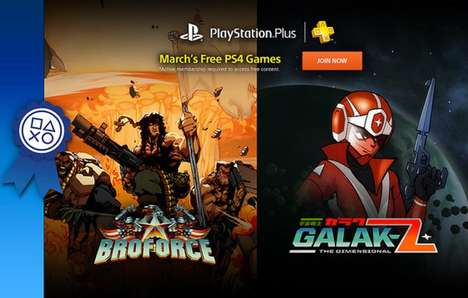 User-Ranking Gaming Campaigns - Playstation Plus Service Subscribers will Receive Free Games