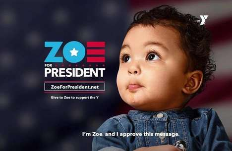 Presidential Toddler Campaigns - The 'Zoe for President' Ad Urges Childhood Education & Protection