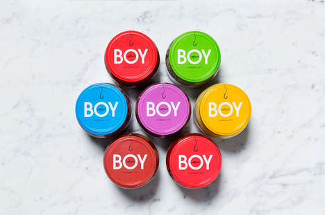 Contemporary Nordic Fish Packaging - This Rebrand for Herring Brand BOY Boasts Vibrant Hues