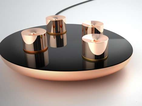 Automated Essential Oil Diffusers - Lumiere is a Smart Aromatherapy Solution Containing Custom Pods