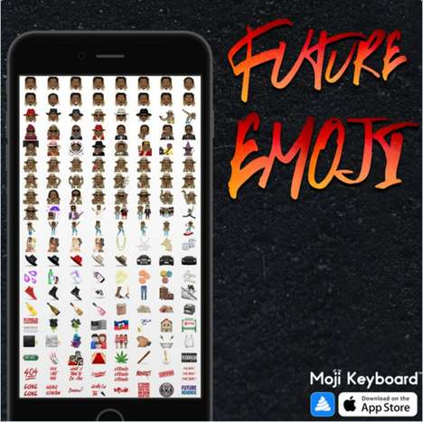 Hip-Hop Artist Emojis - The Future Emojis Capture the Popular Southern Rapper