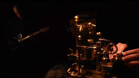 Candle-Powered Effects Pedals - The Candela VibroPhase is a High-Tech Musical Steampunk Masterpieces