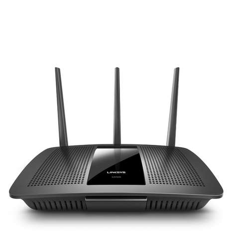 4K Content-Streaming Routers - The Linksys 'MAX-STREAM' Smart WiFi Router Offers Next-Gen Speeds