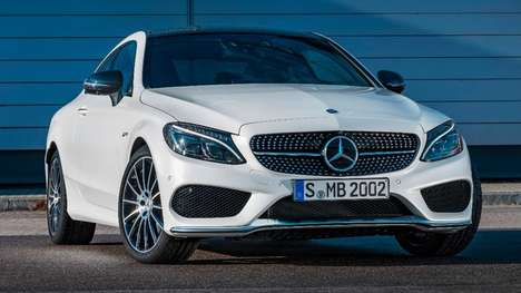 Classy Customizable Coupes - This Mercedes Coupe Lets Drivers Micro-Manage Performance Settings