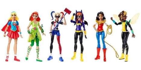 Heroic Female Action Figures - The 'DC Super Hero Girls' were Collaboratively Created by DC & Target