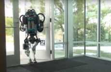 Untethered Indoor Robots - The New Atlas Robot Offers Improved Balance and Functioning