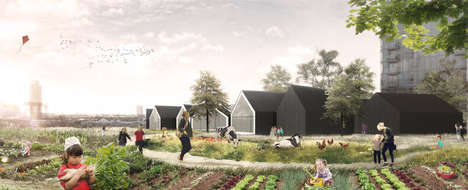 Produce-Growing Preschools - This Eco-Friendly Preschool Doubles as an Urban Farm