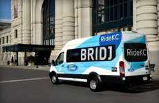Branded Data-Driven Bus Services - A New Ford Bridj Partnership Will Bring Data-Driven Transit to KC
