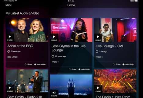 Customizable Music Apps - The BBC Music App Offers Recommendations Based On Your Taste