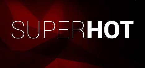 Time Dilation Shooter Games - SUPERHOT Is a First-Person Shooter Where Time Moves as You Do