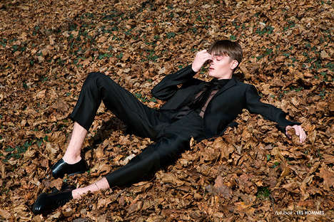 Dazed Model Portraits - Diego Ricci's 'Lost' Editorial Spotlights Stylish Outdoor Photography