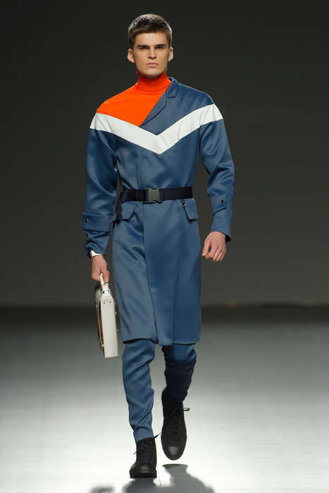 Militant Sportswear Collections - This Antonio Sicilia Presentation Blends Sporty and Sci-Fi Accents