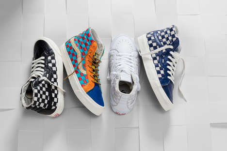 Celebratory Checkered Sneakers - Vans is Celebrating its 50th Birthday with Cool Patterned Kicks