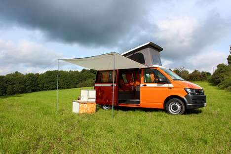 Retro-Inspired Camper Vans - The 'Flow Camper' Camping Van Brings a Touch of the Past Back to Life