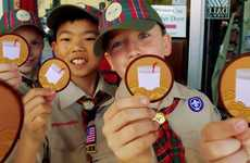 Boy Scout Milk Campaigns