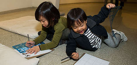 Family-Friendly Museum Tours - The Guggenheim Offers Special Activity Kits for Children