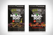 Meal-Replacement Backpacking Bars - The Greenbelly Meal2Go Snack Bars Offer on-the-Go Refueling