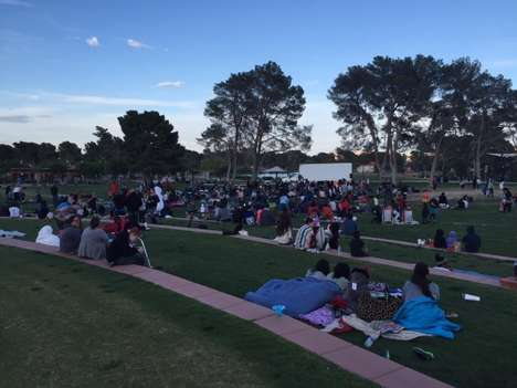 Creative Movie Screenings - This Outdoor Movie Night Features Arts and Crafts Pre-Show