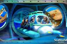 Immersive Aquarium Attractions - The SeaWorld Ocean Explorer Park Will Feature Immersive Rides
