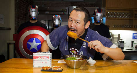 Superhero Ramen Eateries - Ippudo Celebrates Marvel Heroes with a Themed Pop-Up Restaurant Location
